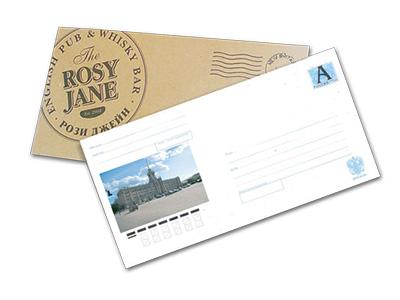 печать конвертов калининград